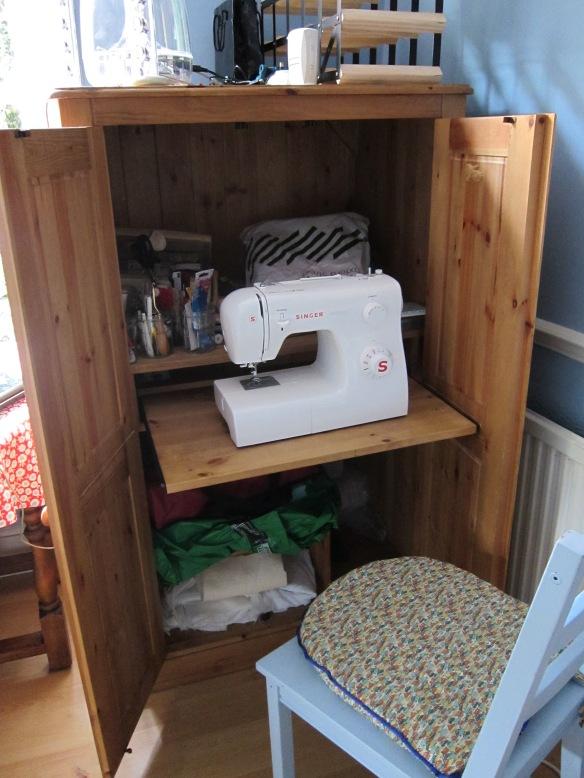 My sewing cupboard