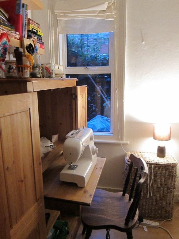 My sewing room - yay!
