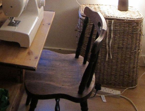 Last summer's chair