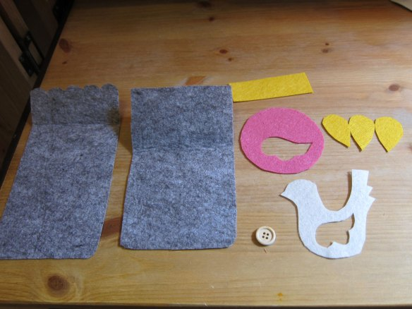 Shapes all cut out and ready