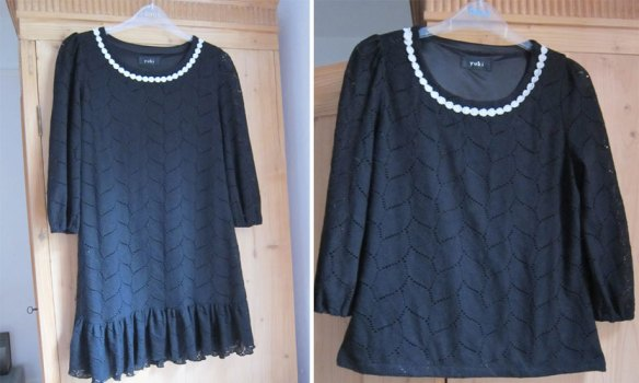 Upcycled dress/jumper