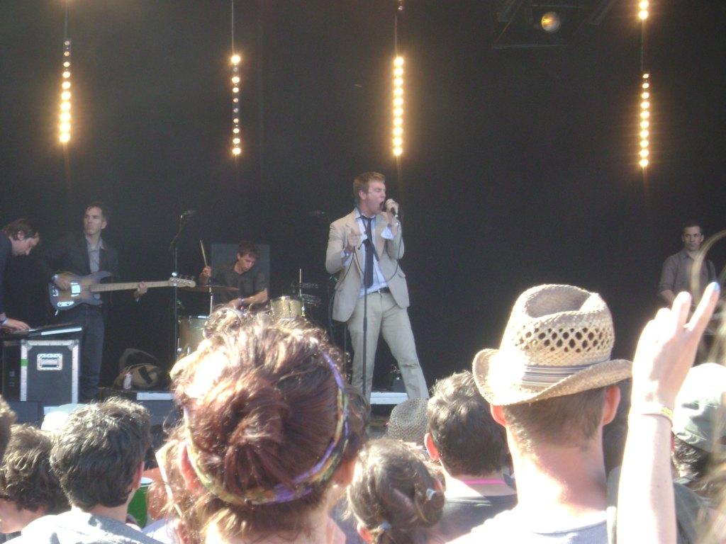 The Walkmen at Glastonbury