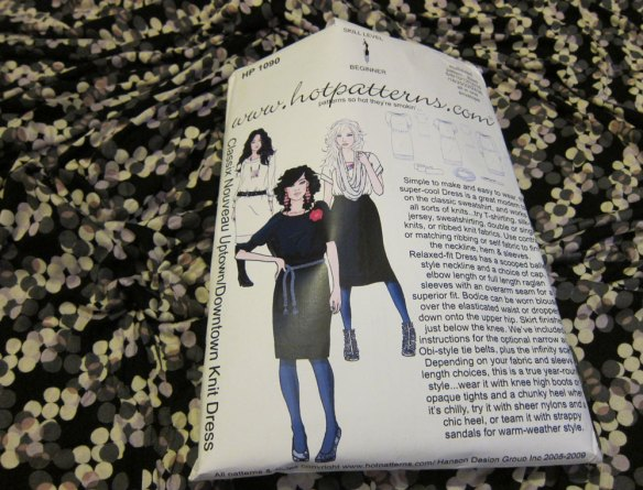 Uptown/downtown knit dress