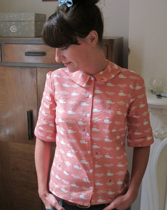 A whale of a time blouse