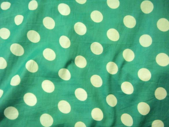 Jade polka-dot