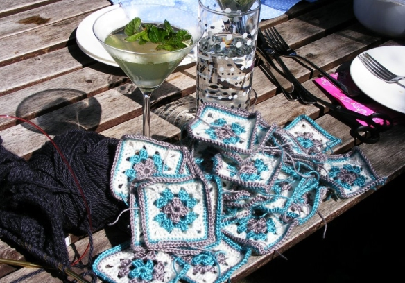 Crochet and cocktails