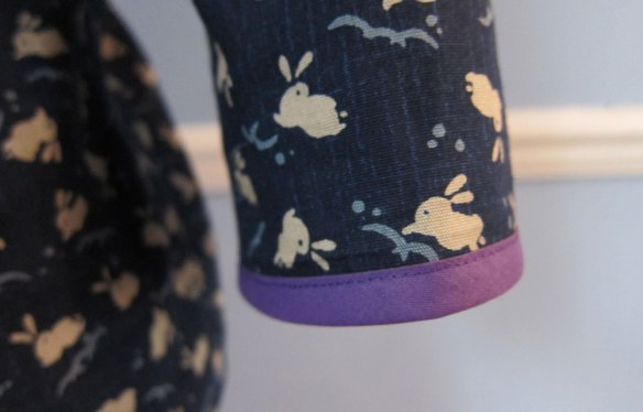 Purple cuffs
