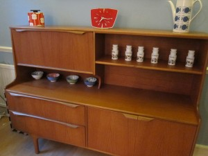 Vintage sideboard finds a new home #3