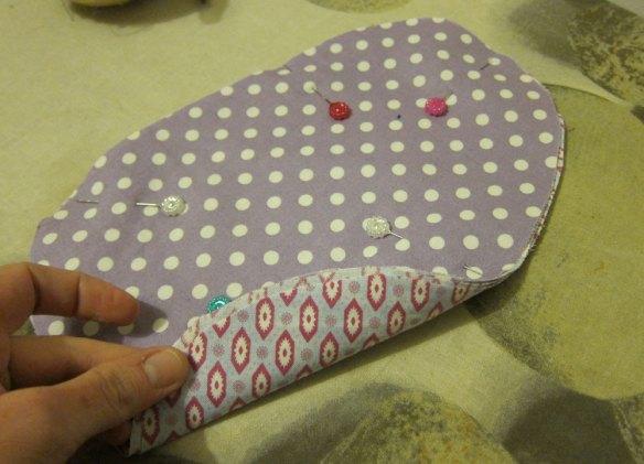 Tailor's ham material