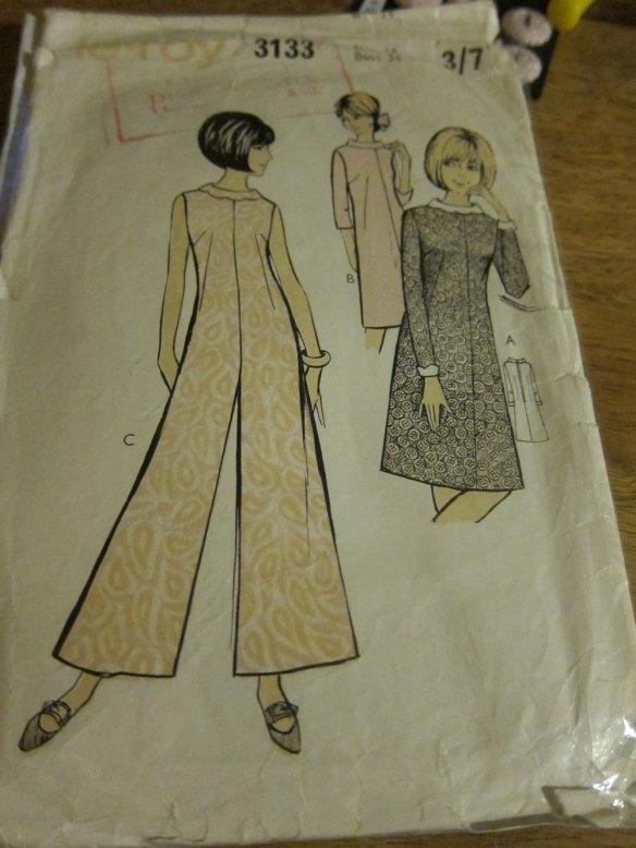 Le-Roy 3133 vintage 60s pattern