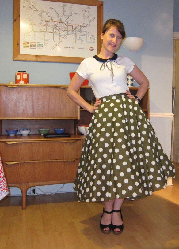 Casey's circle skirt sewalong party 2