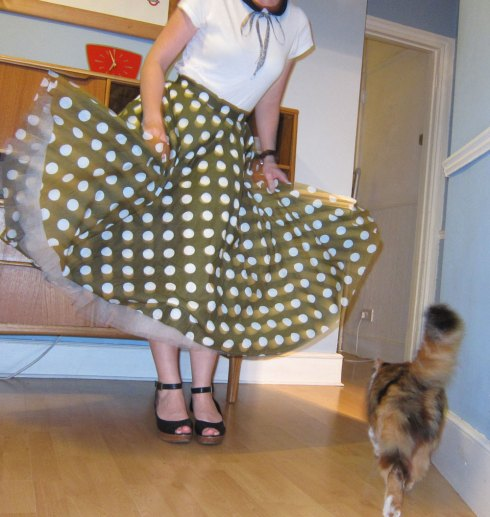 Casey's circle skirt sewalong party 4
