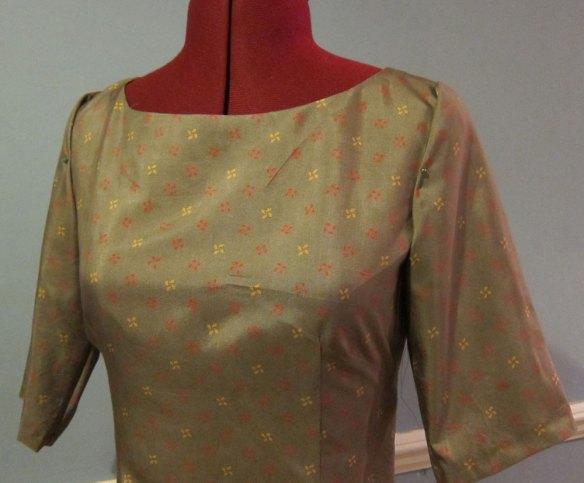Liberty silk McCalls 2401 bodice
