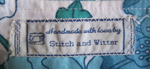 Lovely label from Bridie
