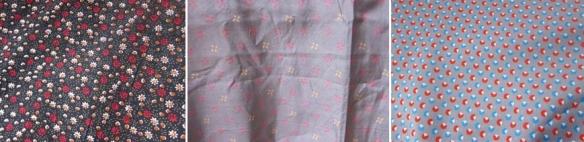 Fabrics for Colette Violet