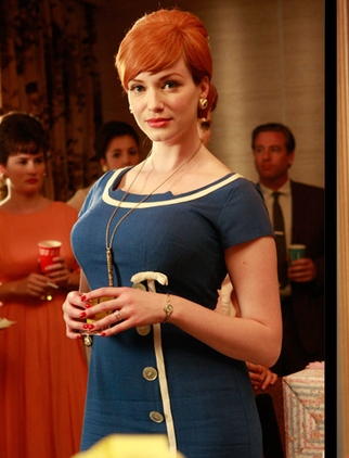 Joan Holloway - blue
