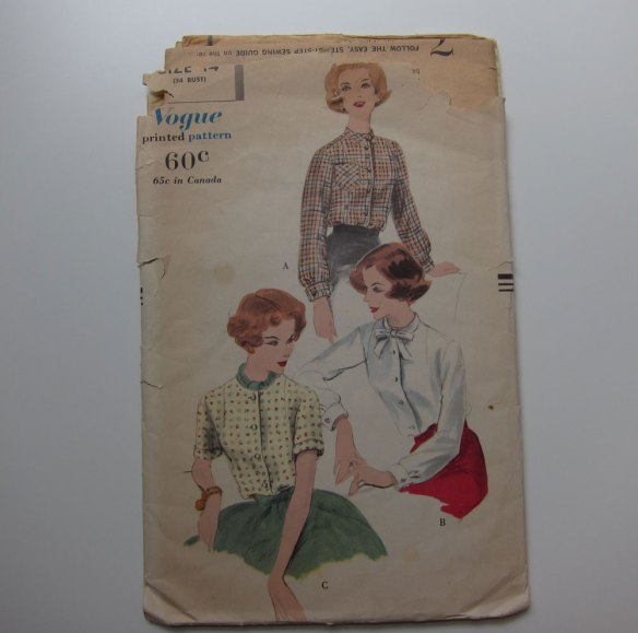 Vintage Vogue pattern