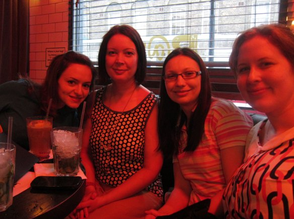 Tilly, Karen, Laura and Alana