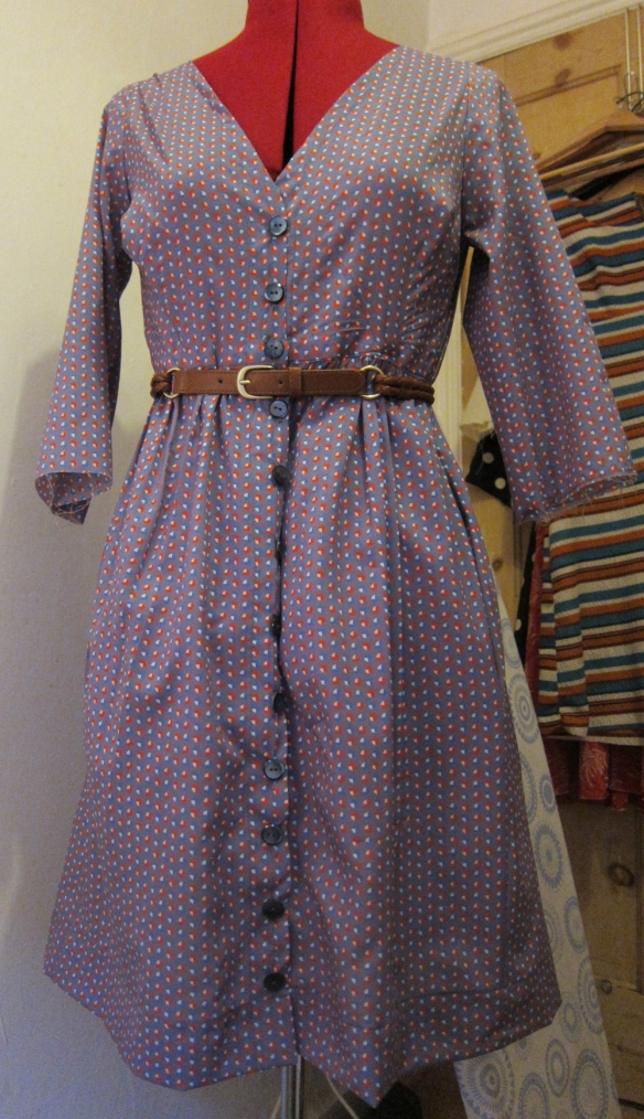 Darling muslin with belt
