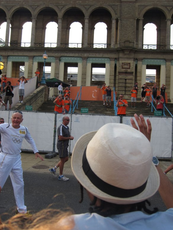 Torch at Alexandra Palace