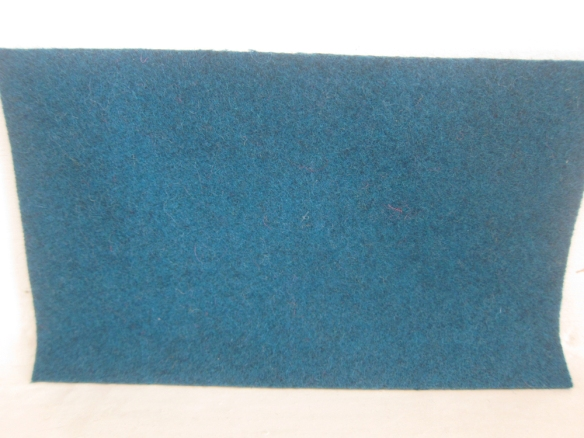 Wool blend coating - Teal (£17.50 per metre)