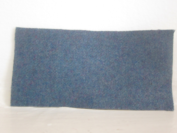 Wool blend coating - Muted Turquoise (£18.50 per metre)