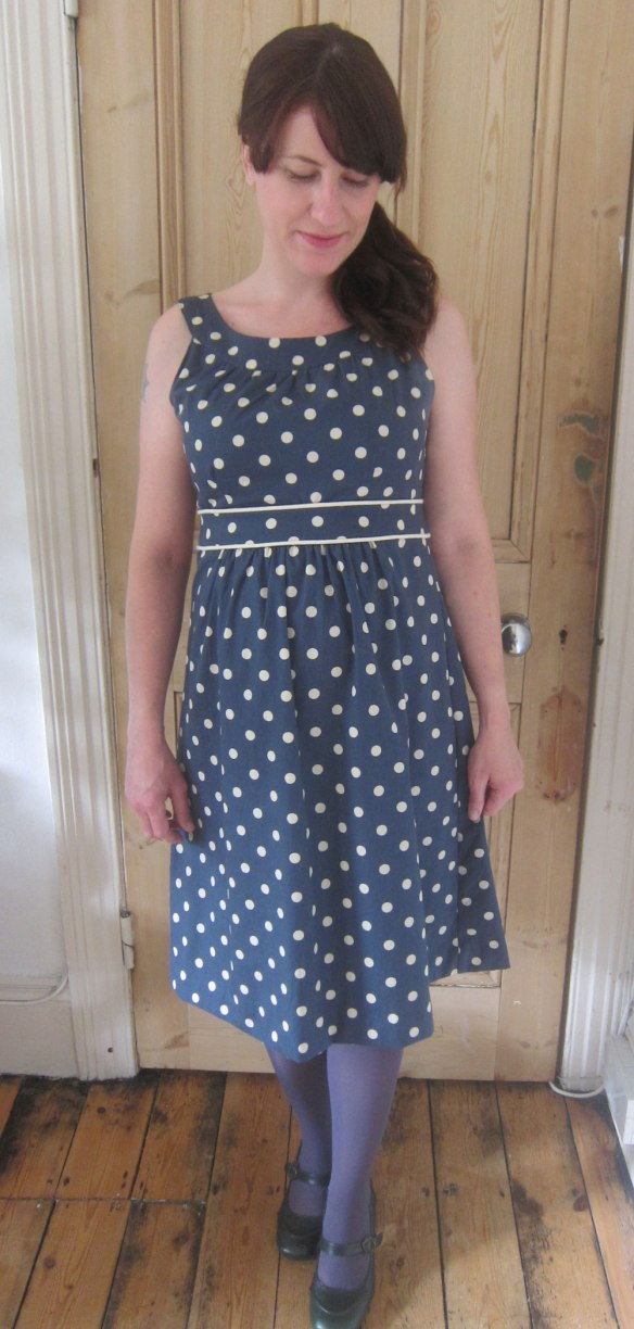 Petrol polka dot New Look 6864