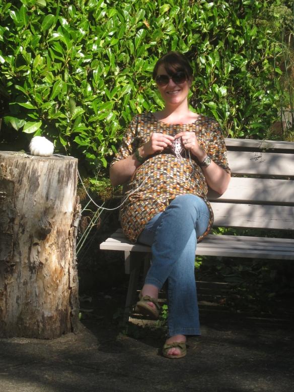 Crochet in the garden