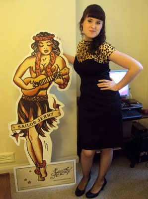 The Rockabilly Wiggle Dress